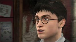 In game image of Harry Potter HBP on the Microsoft Xbox 360.