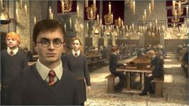 In game image of Harry Potter OOTP on the Microsoft Xbox 360.