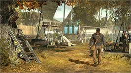 In game image of Homefront on the Microsoft Xbox 360.