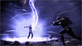 In game image of Hunted Demons Forge on the Microsoft Xbox 360.