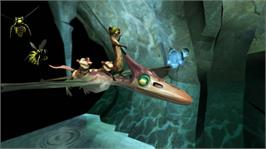 In game image of Ice Age 3 on the Microsoft Xbox 360.