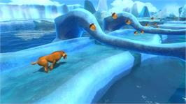 In game image of Ice Age 4 on the Microsoft Xbox 360.