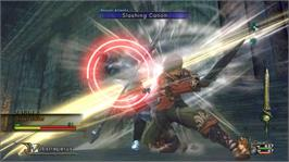 In game image of Infinite Undiscovery on the Microsoft Xbox 360.