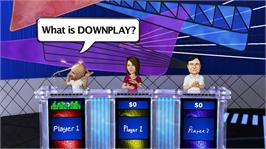 In game image of Jeopardy! on the Microsoft Xbox 360.