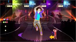 In game image of Just Dance® 4 on the Microsoft Xbox 360.