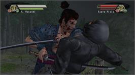 In game image of Kengo Legend of the 9 on the Microsoft Xbox 360.