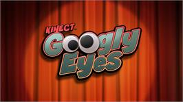 In game image of Kinect Googly Eyes on the Microsoft Xbox 360.