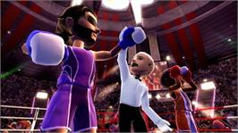 In game image of Kinect Sports on the Microsoft Xbox 360.