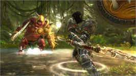 In game image of Kingdoms of Amalur: Reckoning on the Microsoft Xbox 360.