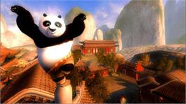 In game image of Kung Fu Panda on the Microsoft Xbox 360.