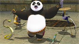 In game image of Kung Fu Panda 2 on the Microsoft Xbox 360.