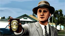 In game image of L.A. Noire on the Microsoft Xbox 360.