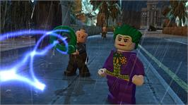 In game image of LEGO® Batman 2 on the Microsoft Xbox 360.