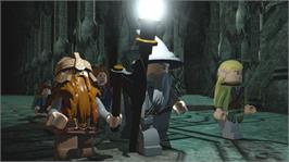 In game image of LEGO® Lord of the Rings on the Microsoft Xbox 360.