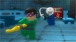 In game image of LEGO Batman on the Microsoft Xbox 360.