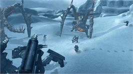 In game image of LOST PLANET COLONIES on the Microsoft Xbox 360.