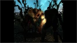 In game image of Left 4 Dead on the Microsoft Xbox 360.