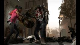 In game image of Left 4 Dead 2 on the Microsoft Xbox 360.