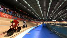 In game image of London 2012 on the Microsoft Xbox 360.