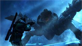 In game image of Lost Planet 3 on the Microsoft Xbox 360.