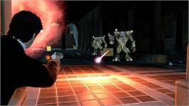 In game image of MIB: Alien Crisis on the Microsoft Xbox 360.
