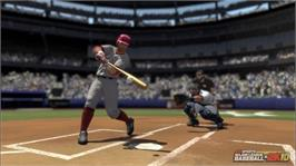 In game image of MLB 2K10 on the Microsoft Xbox 360.