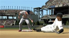 In game image of MLB 2K11 on the Microsoft Xbox 360.