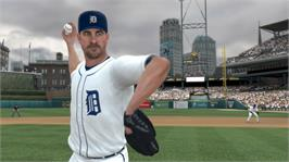 In game image of MLB 2K12 on the Microsoft Xbox 360.