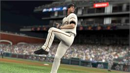 In game image of MLB 2K9 on the Microsoft Xbox 360.