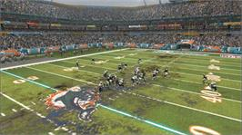 In game image of Madden NFL 07 on the Microsoft Xbox 360.