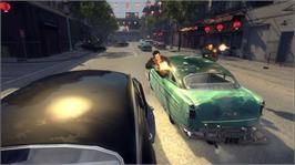 In game image of Mafia II on the Microsoft Xbox 360.