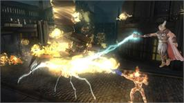 In game image of Marvel Ult. Alliance 2 on the Microsoft Xbox 360.