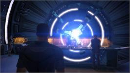 In game image of Mass Effect on the Microsoft Xbox 360.