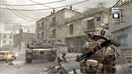 In game image of Modern Warfare® on the Microsoft Xbox 360.
