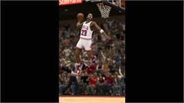In game image of NBA 2K12 on the Microsoft Xbox 360.