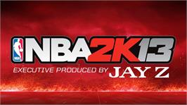 In game image of NBA 2K13 on the Microsoft Xbox 360.