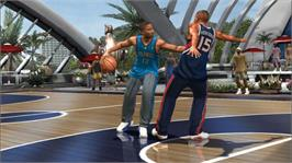 In game image of NBA Ballers:Chosen One on the Microsoft Xbox 360.