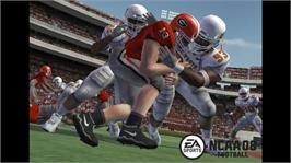 In game image of NCAA® Football 08 on the Microsoft Xbox 360.