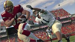 In game image of NCAA® Football 09 on the Microsoft Xbox 360.