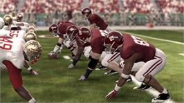 In game image of NCAA® Football 12 on the Microsoft Xbox 360.