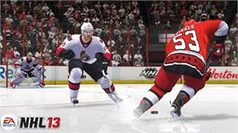In game image of NHL®13 on the Microsoft Xbox 360.