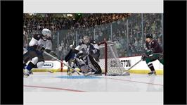In game image of NHL 2K6 on the Microsoft Xbox 360.