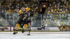 In game image of NHL 2K8 on the Microsoft Xbox 360.