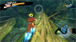 In game image of Naruto Rise Of A Ninja on the Microsoft Xbox 360.