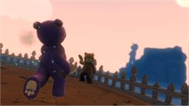 In game image of Naughty Bear on the Microsoft Xbox 360.