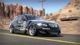 In game image of Need for Speed SHIFT on the Microsoft Xbox 360.