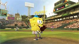 In game image of Nicktoons MLB on the Microsoft Xbox 360.
