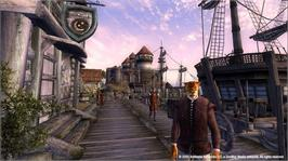 In game image of Oblivion on the Microsoft Xbox 360.