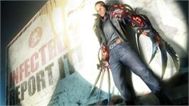In game image of PROTOTYPE 2 on the Microsoft Xbox 360.