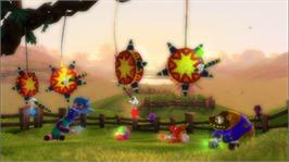 In game image of Party Animals on the Microsoft Xbox 360.